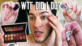I USED ALL EXPIRED MAKEUP... this is what happened to my skin...