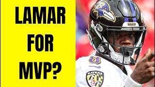Lamar Jackson Is A Top 10 QB! Will Lamar Jackson Win MVP? Ravens Best Team In NFL?