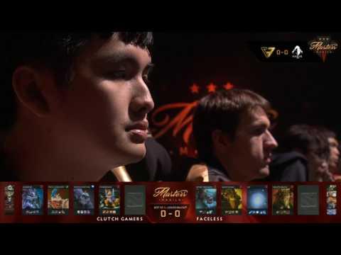 Clutch Gamers vs Faceless| The Manila Masters | Bo3 | Filipino Coverage | Game 1