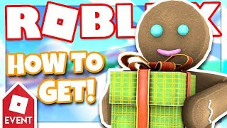 [EVENT] How to get the GINGERBREAD MAN | Roblox Super Bomb Survival