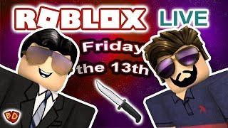 🔴 Roblox Live | Sexta-feira 13-Murder Mystery 2 | Ben e papai