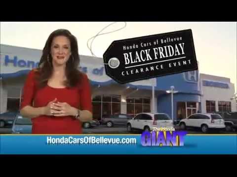 2014 Black Friday Clearance Event At Honda Cars Of Bellevue An Omaha Honda Dealer Youtube