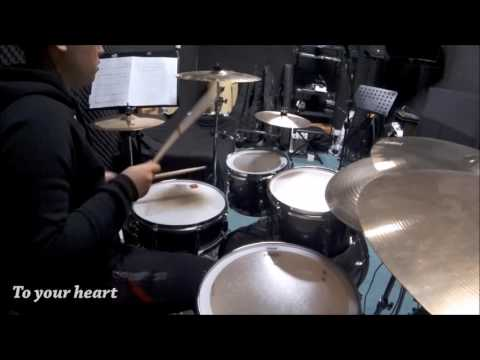 ONE OK ROCK - Listen ft. Avril Lavigne (Drum Cover by Muven Hui)