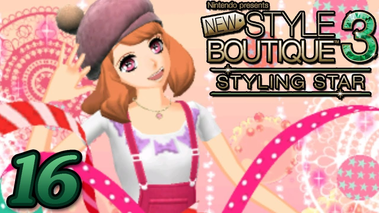 New Style Boutique 3 Styling Star ~ ROSIE\u0027S DEBUT OUTFIT Part 16 ~ Gameplay  Walkthrough