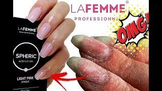 OMG PolyGel?! Jak to możliwe?! Test Akrylożelu LA FEMME