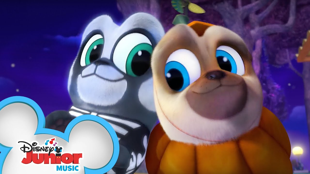On Night Music Video Puppy Dog Pals Disney Junior