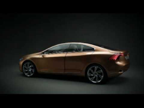 Studio Footage Of The New Volvo S60 Concept - By Autocar.co.uk