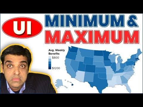 A Detailed Guide To Minimum & Maximum Weekly Unemployment Benefit Amounts