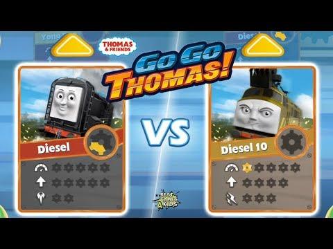 Thomas & Friends: Go Go Thomas | NEW UPDATE 2018, DIESEL Vs DIESEL 10! By Budge