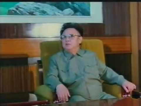 """The Great Leader Comrade Kim Jong Il Meets with President Kim Dae Jung"""