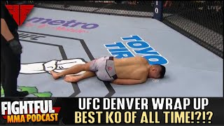 UFC Fight Night Denver Full Results & Review  25th Anniversary | Fightful MMA Podcast