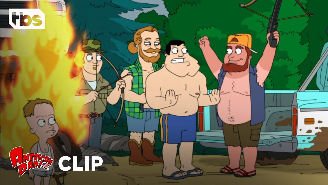 American Dad: Crazy Lake People (Clip) | TBS