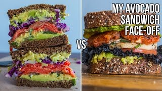 My Avocado Sandwich Face-off - Smoked Salmon vs Chicken-Grapefruit