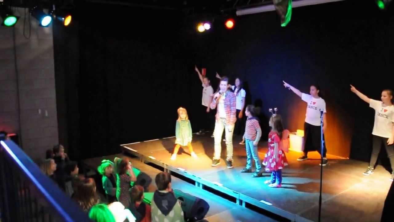 Anick Berghmans kinderdans-disco met anick berghmans @ jh de stip # 7.3.2014