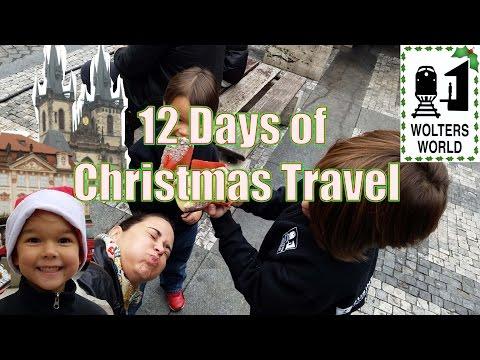 12 Days of Christmas Travel - Parody Christmas Song 2016