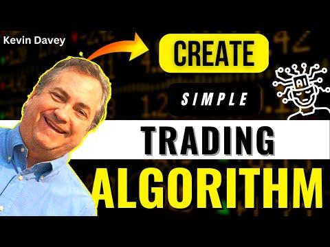 Create A Simple Trading Algo