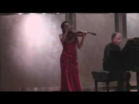 Paula Martinez -  Violin - Brahms, Scherzo (WoO post 2)