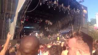 Rudimental LIVE at Lovebox 2013 - Waiting All Night