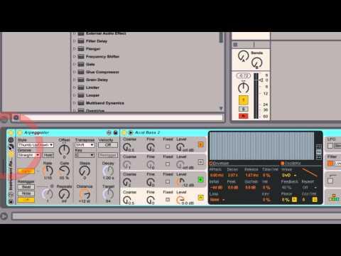 Ableton Live - Tutorial 09 : Instrumentos y efectos