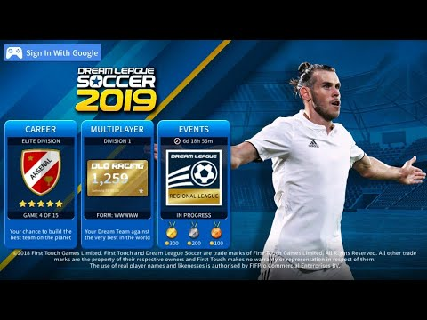 How To Create Real Madrid Team 2019 Kits & Logo | Dream League Soccer 2019.