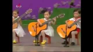 North Korea children playing the guitar (FIXED)