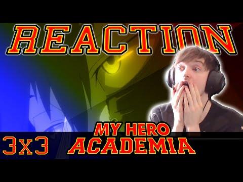 My Hero Academia: Season 3 - Episode 3 REACTION