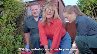 Gonna Be (500 Times): Learn CPR with Carol Smillie
