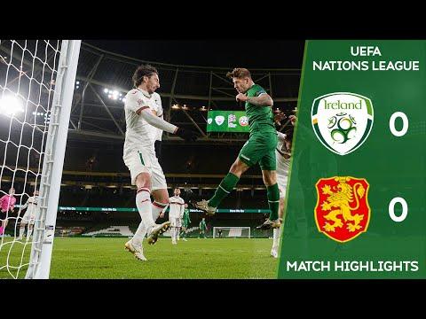 HIGHLIGHTS   Ireland 0-0 Bulgaria - UEFA Nations League