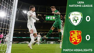 Ireland will remain in uefa nations league b after a scoreless draw against bulgaria.