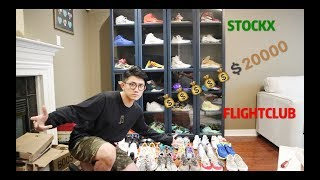 SHOPPING IN FLIGHTCLUB AND STOCKX FOR $20000 USD 我在纽约买了20000美刀的鞋子!
