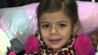 Crianças de Newark receberam casacospara o inverno