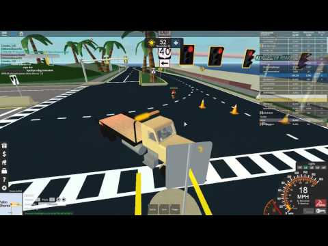 Roblox Ultimate driving Highway Worker Patrol