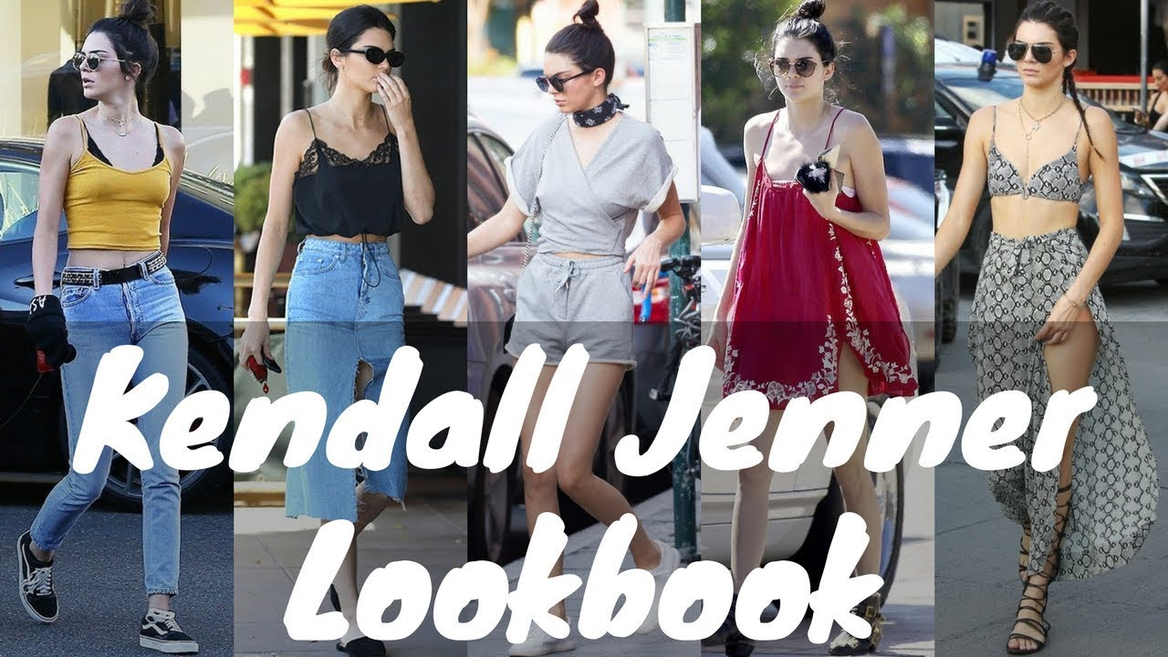 Latest Kendall Jenner Outfits Style For Summer 2018