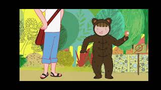 Basia i upał w zoo bajka kreskówka animowana animacja