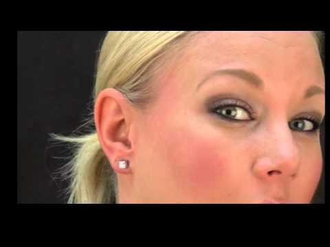 Sandi's Signity CZ Magnetic Stud Earrings