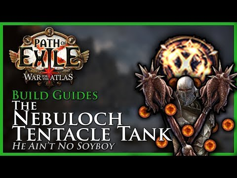 Path of Exile [3.5 - Updated]: Nebuloch Tentacle Tank ft. Consecrated Path - Build Guide