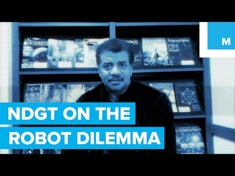 Neil deGrasse Tyson: Robots or People Go to Space?