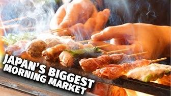 Japan's Biggest Morning Market