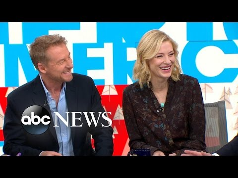 Cate Blanchett and Richard Roxburgh Talk New Play Live on 'GMA'
