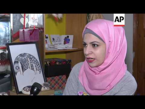 Palestinian artist hopes to launch international career