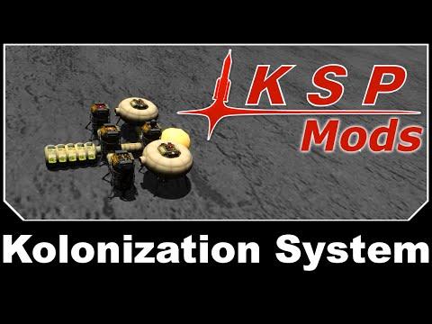 KSP Mods - USI Kolonization System