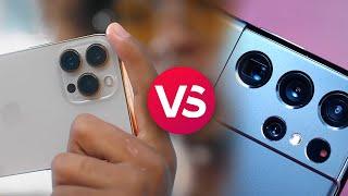iPhone 13 Pro Max vs Galaxy S21 Ultra: Spec Comparison
