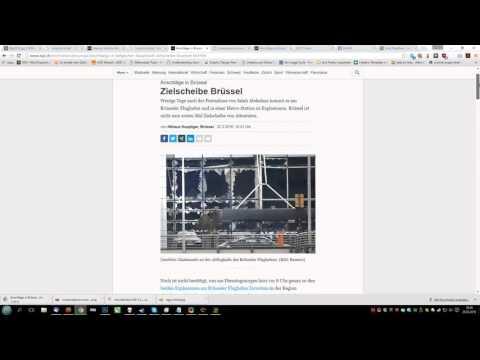 38 Minuten zu früh - Zeitung berichtet 38 Minuten zu früh über Brüssel