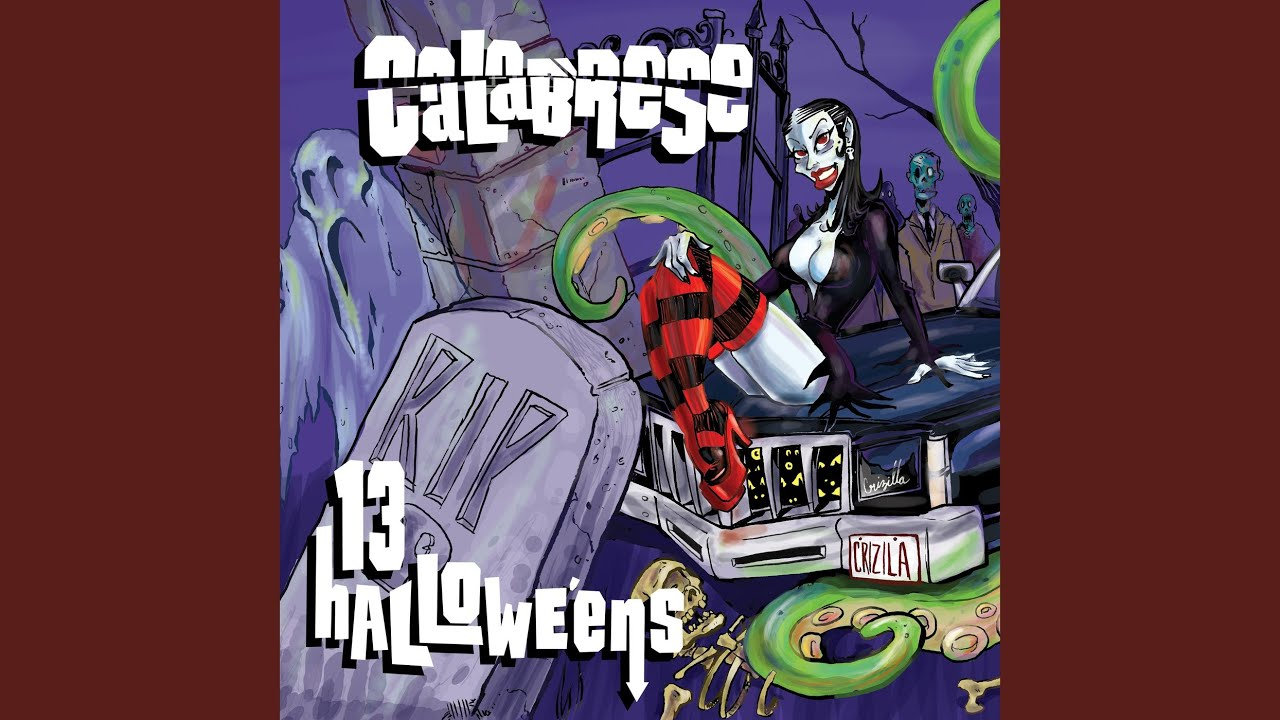 midnight spookshow calabrese topic - Calabrese 13 Halloweens