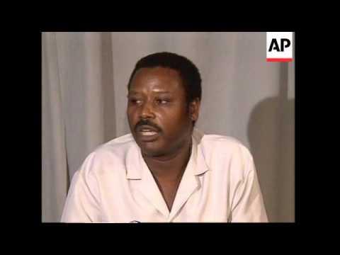 BURUNDI: MAJOR PIERRE BUYOYA WARNS AGAINST FOREIGN INTERVENTION