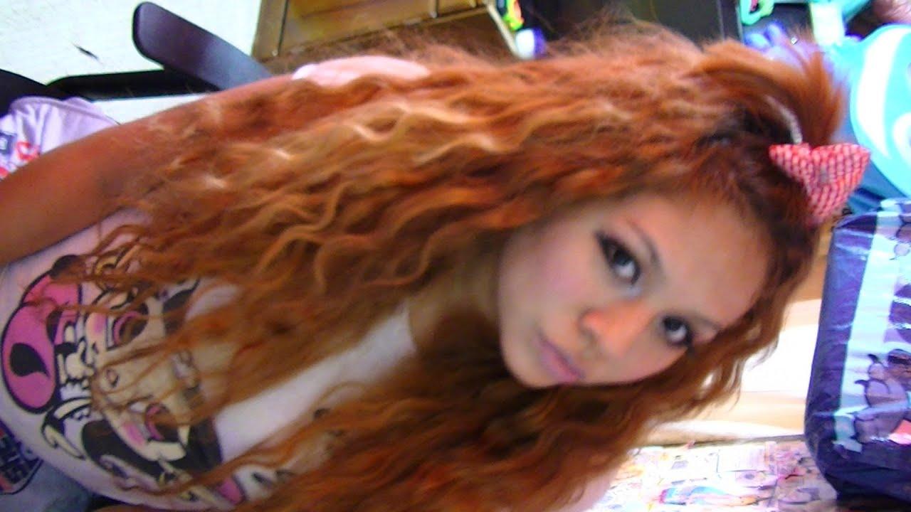Tutorial de cabello peinado cabello suelto con colita - Tutorial de peinados ...