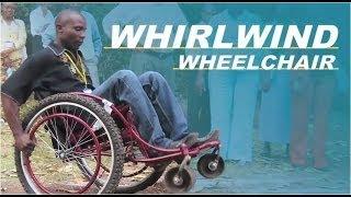Whirlwind's All Terrain Wheelchair RoughRider