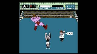 TKO vs Commie Soda Popinski in Round 1 Mike Tyson's Punch Out!! NES, NES Classic