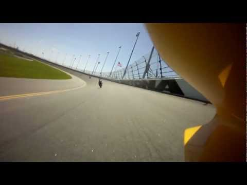 Daytona CCS race of Champions 2012, onboard with Greg Melka. Mark Miller Jr. takes a memorable win
