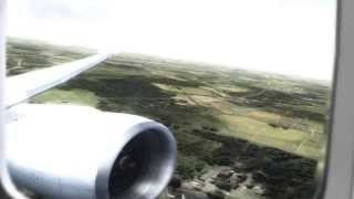 FSX - Boeing 777 Realistic Departure   HD